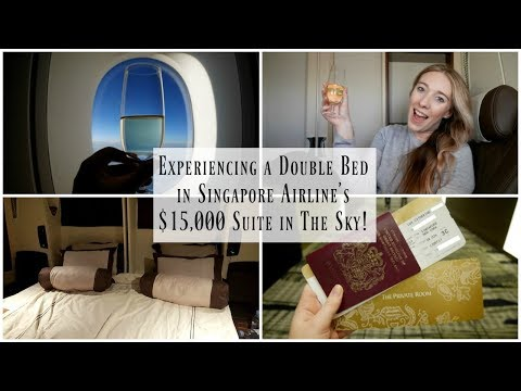 Singapore Airlines First Class Suites A380 Review | Sydney to New York City | Lux life