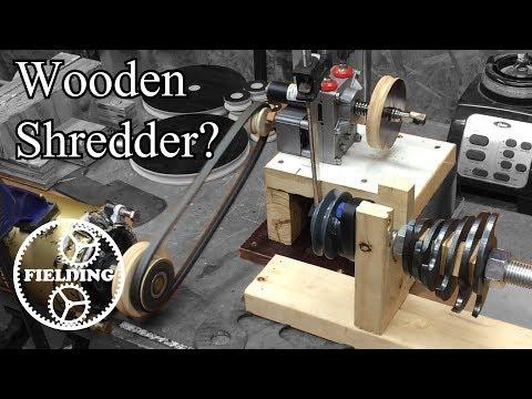 Building Precious Plastics Shredder Out of Wood? Part 1: 027