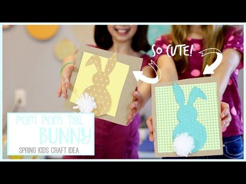 Pom Pom Tail Bunny Sugar Bee Crafts
