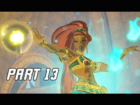 Legend of Zelda Breath of the Wild Walkthrough Part 13 - Urbosa's Fury (Let's Play Commentary)