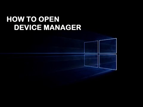 WINDOWS 10-How to open DEVICE MANAGER in different ways.....!!!!