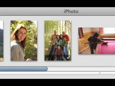 020 Apple iLife iPhoto 09 Create custom greeting cards