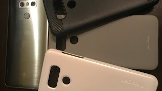 LG G6 Thin Case Competition. Spigen vs Bear Motion vs Slim Silicone