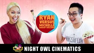 Makeup Challenge: Michelle VS Ryan!