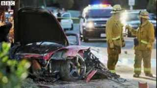 Paul Walker Death in car crash Fast & Furious actor dies in California accident BBC News