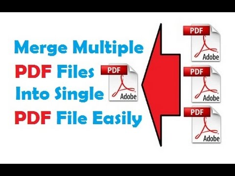 How To Merge Multiple PDF Files Into One PDF | Without Software | Online For FREE
