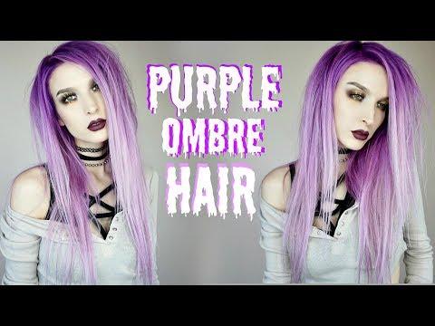 Purple Unicorn Hair Tutorial   Product Review