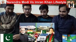 Pakistani Reaction On Narendra Modi Vs Imran Khan Lifestyle ✮Car Collection ,Helicopter ,Private Jet
