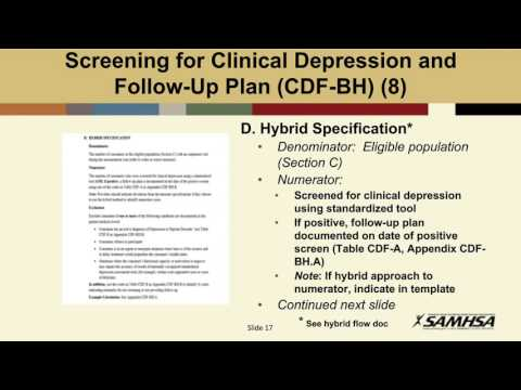 BHC-Lead Behavioral Health Clinic Measures – Part 2 of 2