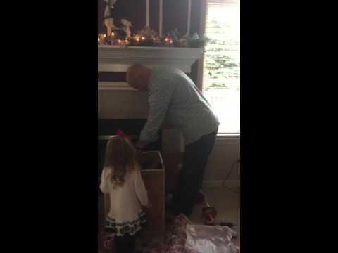 Santa sends Rob a present