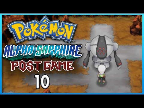 Pokemon Alpha Sapphire Post Game 10 Catching Registeel ORAS Gameplay Walkthrough Playthrough