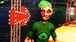 JACKSEPTICEYE CHARACTER IN GAME | Ben and Ed Blood Party #1
