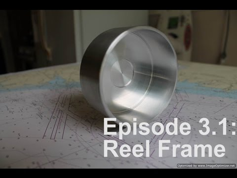Homemade Fly Reel Ep. 3 Pt 1: Reel Frame on the Lathe