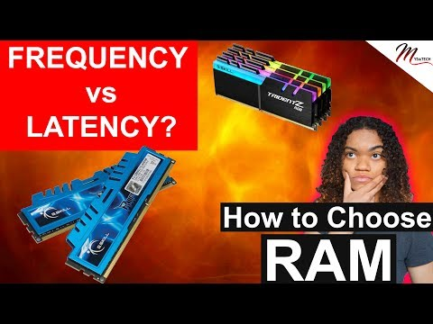 RAM Frequency vs CAS latency - Does Speed Matter? How Much RAM Do You Need - How to Choose RAM 2018