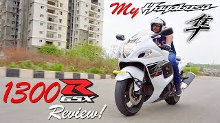 My New Beast! Suzuki Hayabusa GSX1300R Review 2017
