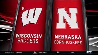 Wisconsin at Nebraska - Football Highlights