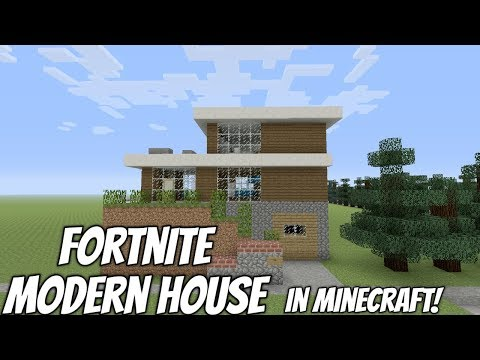 Minecraft: Fortnite Modern House!