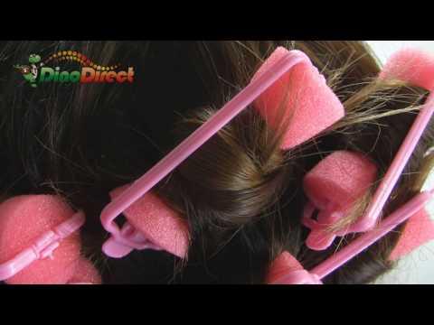 Hair Salon DIY Sponge Curlers Rollers 28 Pcs Small - dinodirect