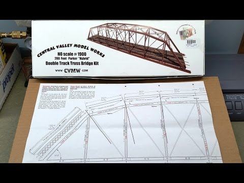 Central Valley Double Track Bridge Build Series