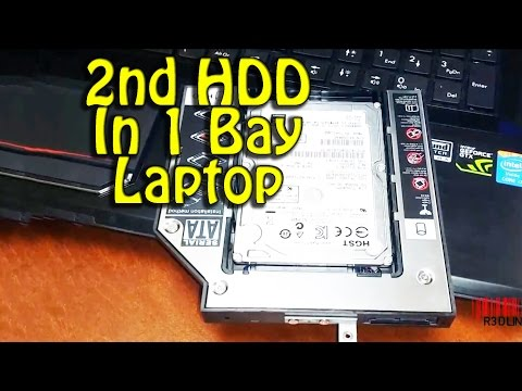 Install 2nd Hard Drive in Laptop How To