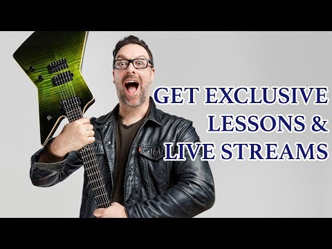 Get exclusive lessons & live streams from me!
