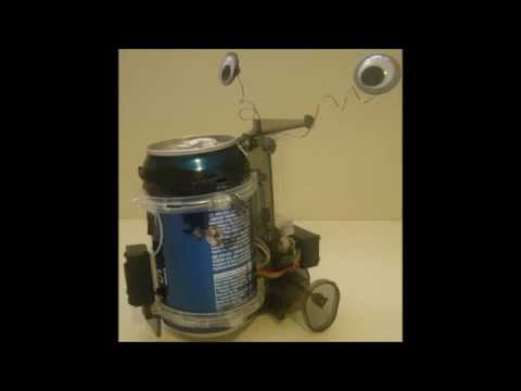 Hacked Tin Can Robot
