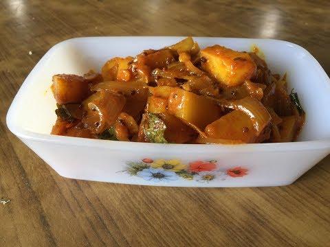 Microwave Potato Curry