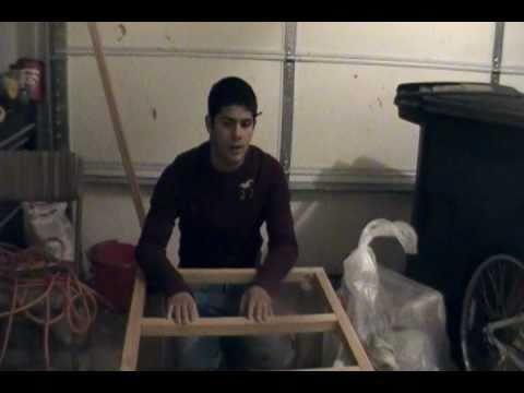 Diy washer dryer stand part 3