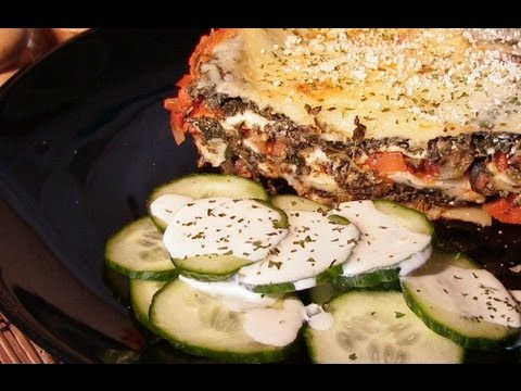Lasagna With 4 Cheese's.- Meat/Sausage