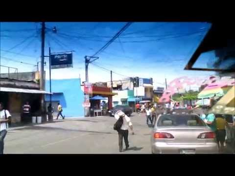 Dangerous Crossing the Mexico/Guatemala Border May 2015