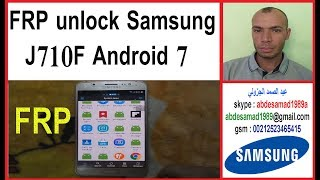 Samsung J7 2016 SM J710F Soft Brick Repair & FRP Reset Done