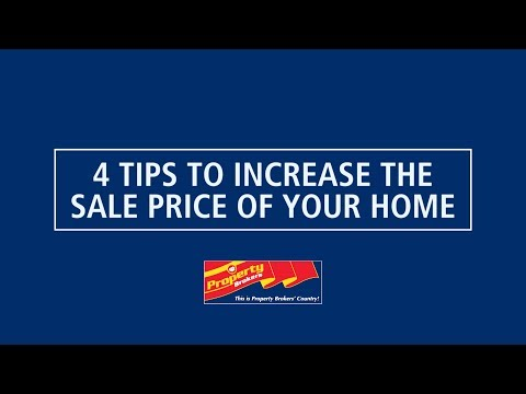 4 top tips to increase your sale price