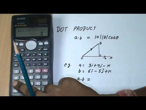 Solving Vector in Casio Scientific Calculator