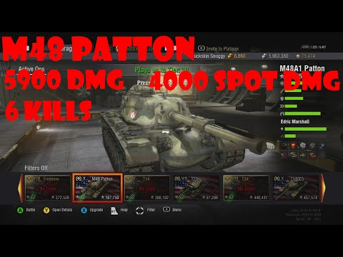 World Of Tanks Xbox 360 M48 Patton