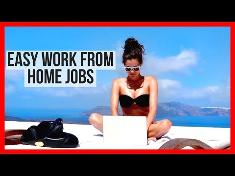 5 Easy Work From Home Jobs | Make Money Working At Home 2017