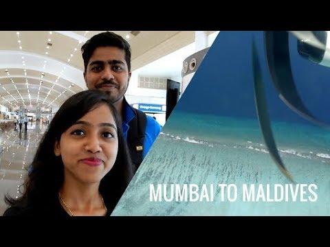 Maldives Vlog | Day 1 | Mumbai to Maldives Flight | Landing in Maldives | Flight to Maldives