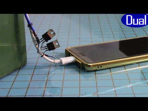 How to make a backup charger, 12v battery phone charger  M29