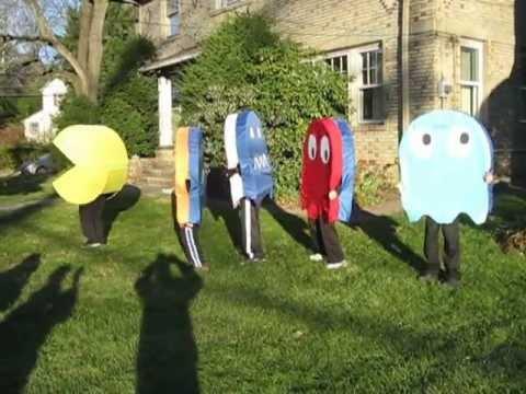 Pac Man Costumes Halloween 2012 - Practice