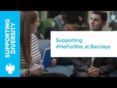 Barclays | International Women's Day 2018 #HeForShe