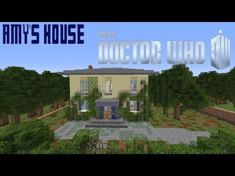 Minecraft Doctor Who: Amy's House