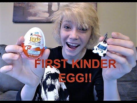 My FIRST KINDER EGG!