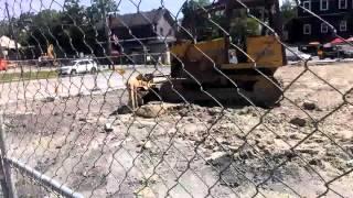 Garrettsville Grist Mill Demolition 6/15/2014