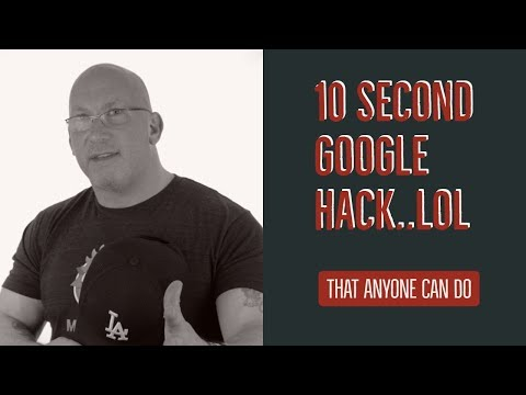 10 Second Google SEO Hack/ Easy Google My Business Trick