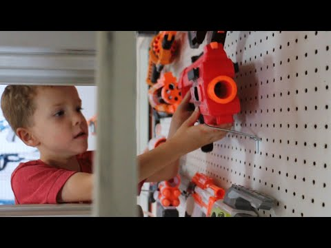 Nerf War:  The Arsenal Behind the Scenes