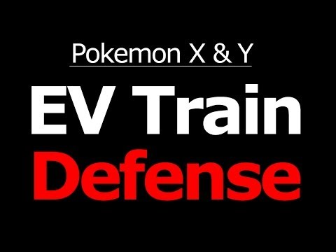 Where to EV Train Defense in Pokemon X and Y Horde Battle