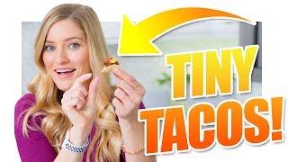 Tiny Tacos for Cinco De Mayo!