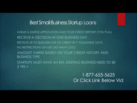Best Small Business Startup Loans