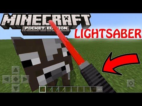 EPIC 3D Lightsaber Addon For Minecraft 1.2.6+