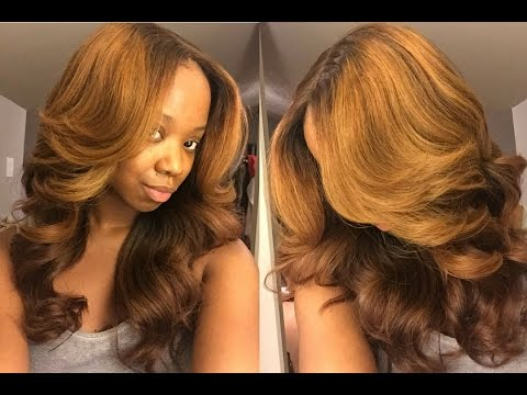 PT1 Fall Honey Blonde Tutorial (Ombre) - Her Hair Company