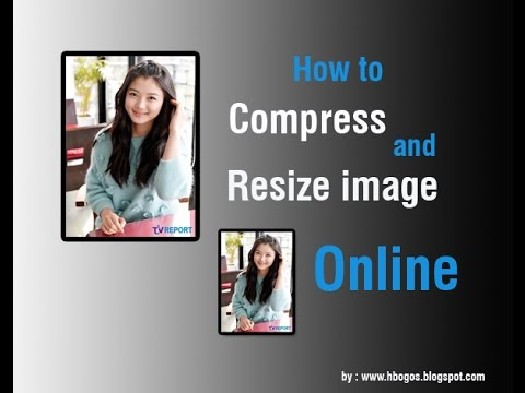 How to  Compress and Resize image online